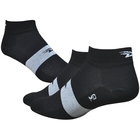"DeFeet Aireator 1"" Socks, team defeet black/white stripe"